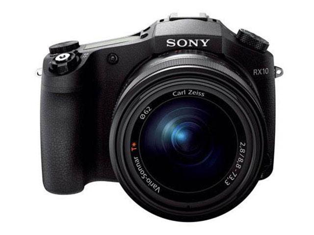 Sony RX10 : de face