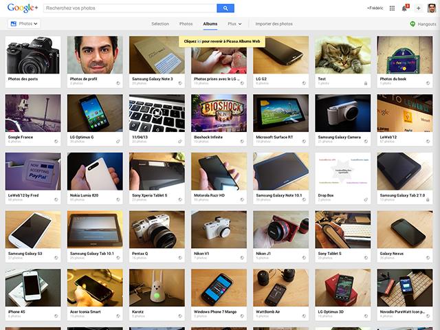 Picasa Web Google+