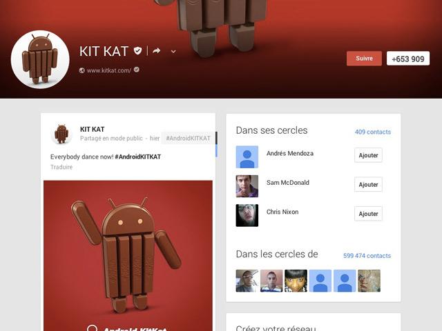 Présentation Android 4.4 KitKat