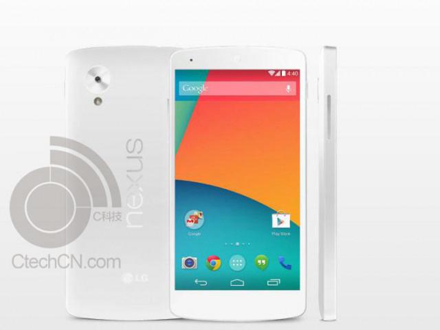 Rendu Nexus 5 blanc