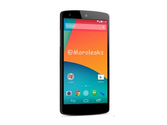 Rendu Nexus 5 noir