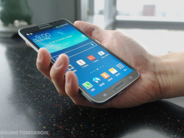 Samsung Galaxy Round : image 1