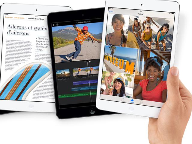 Sortie iPad Mini Retina