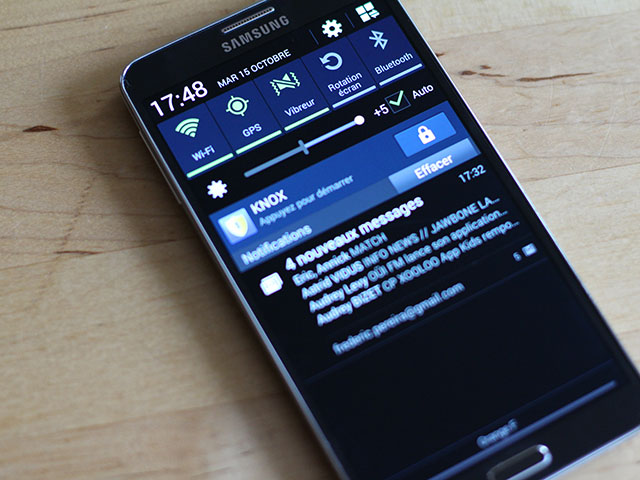 Test Samsung Galaxy Note 3 : image 3