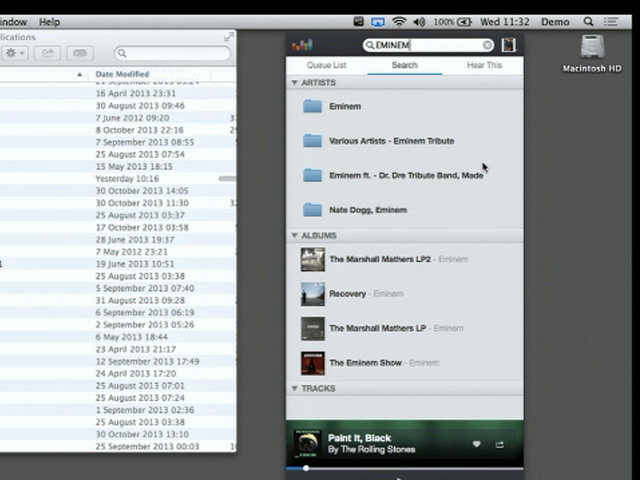 Application OS X Deezer