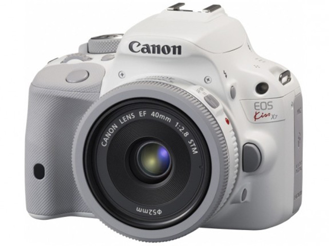 Canon EOS 100D blanc : image 1