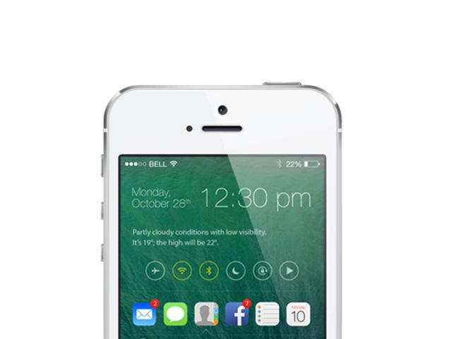 Concept iOS 7 / iOS 8