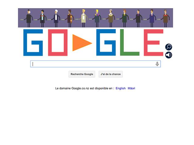 Google doodle Docteur Who : capture 1
