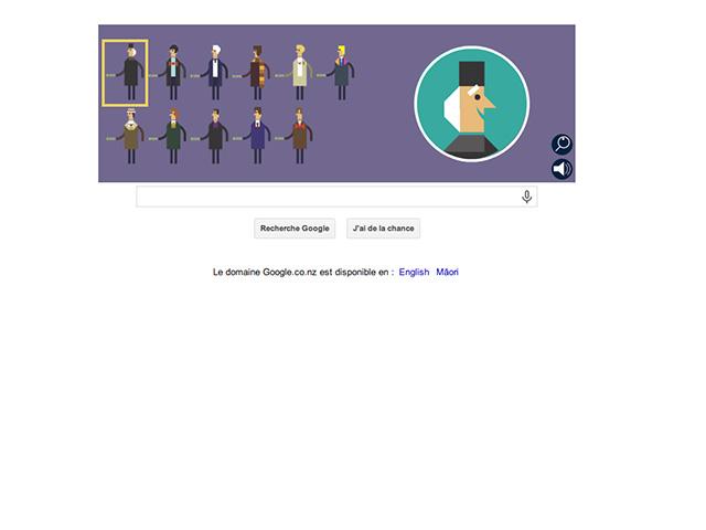 Google doodle Docteur Who : capture 2