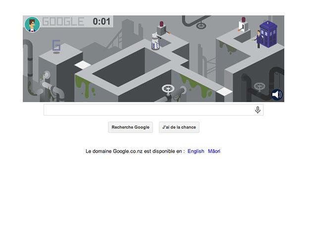 Google doodle Docteur Who : capture 3