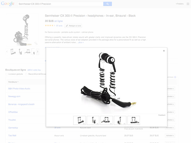Google Shopping nov2013 : capture 3