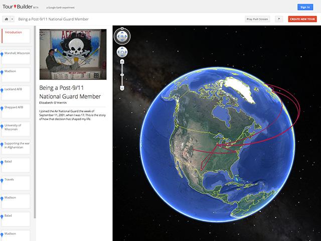 Google Tour Builder : capture 2