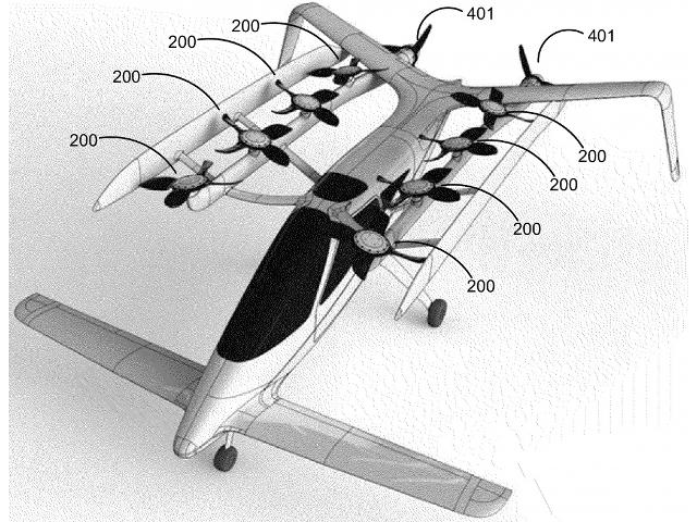 Google sur le développement d'une voiture volante