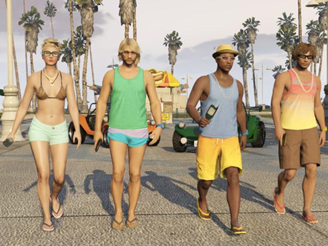 GTA Online Beach Bum Pack : image 4