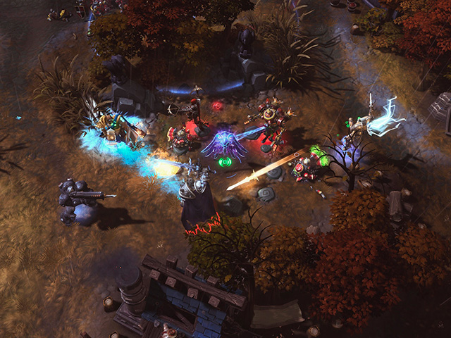 Heroes of the Storm : capture 1