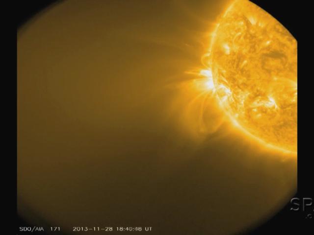 ISON n'est pas réapparue après son passage derrière le Soleil...