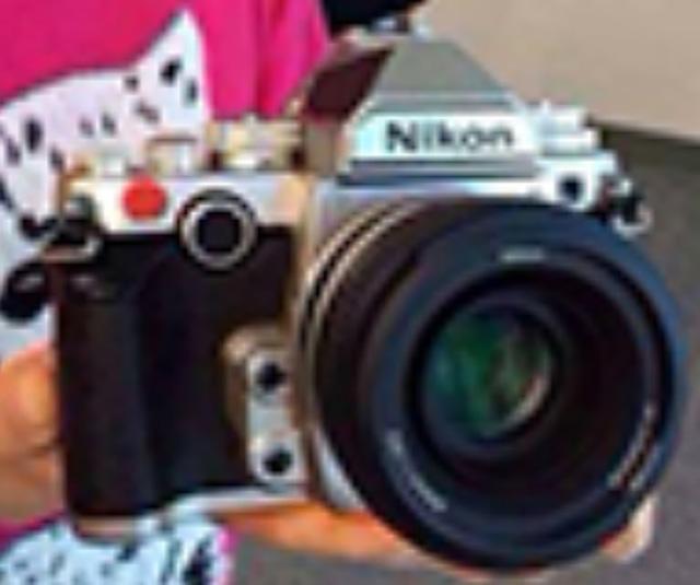Photo floue Nikon DF