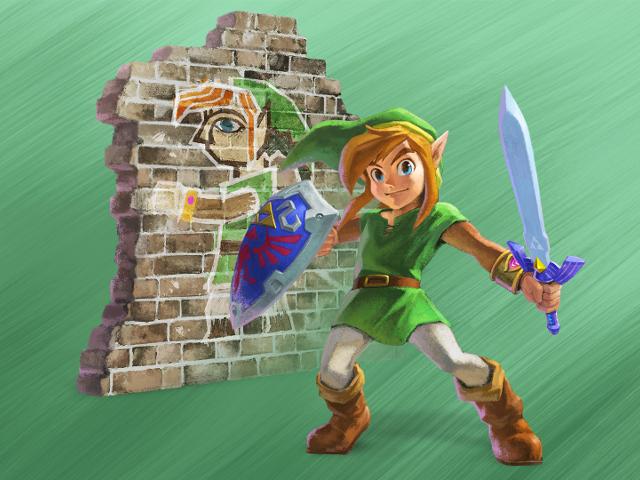 Transformez-vous en peinture dans ce nouveau Zelda !