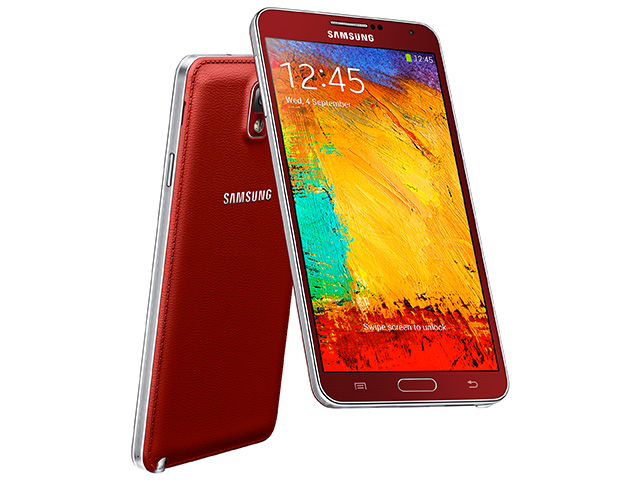 Samsung Galaxy Note 3 rouge