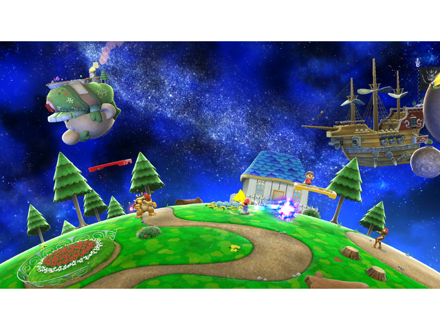 Super Mario Galaxy dans Super Smash Bros. Wii U