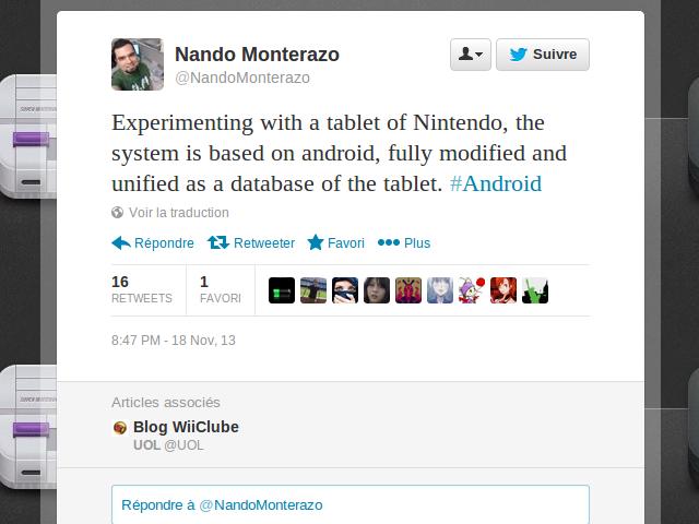 Une tablette par Nintendo ?