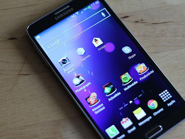 Ventes Samsung Galaxy Note 3