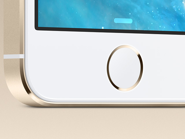Touch ID trackpad iPhone 5s