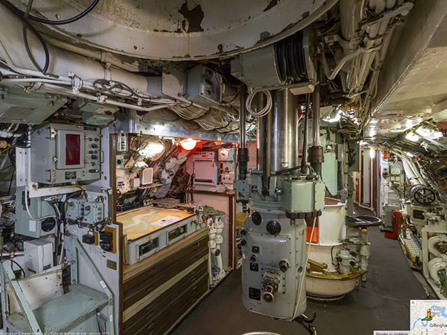 Visite sous marin Google Maps