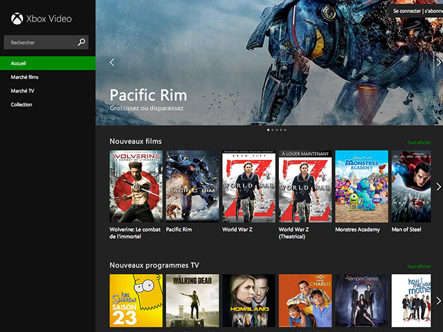 Xbox Video web : capture 1
