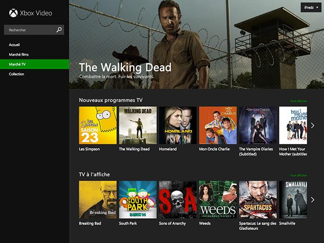 Xbox Video web : capture 2