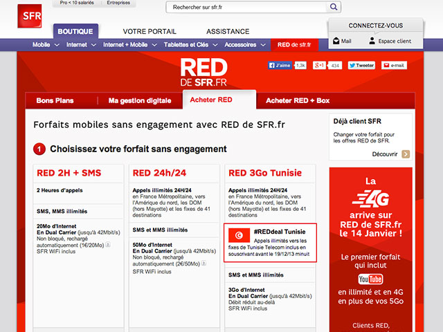 sfr la 4g d barquera dans la gamme red en janvier prochain. Black Bedroom Furniture Sets. Home Design Ideas