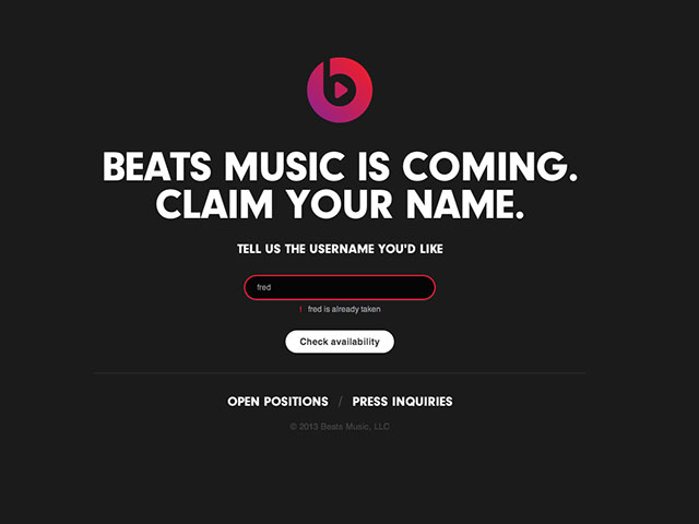 Lancement Beats Music