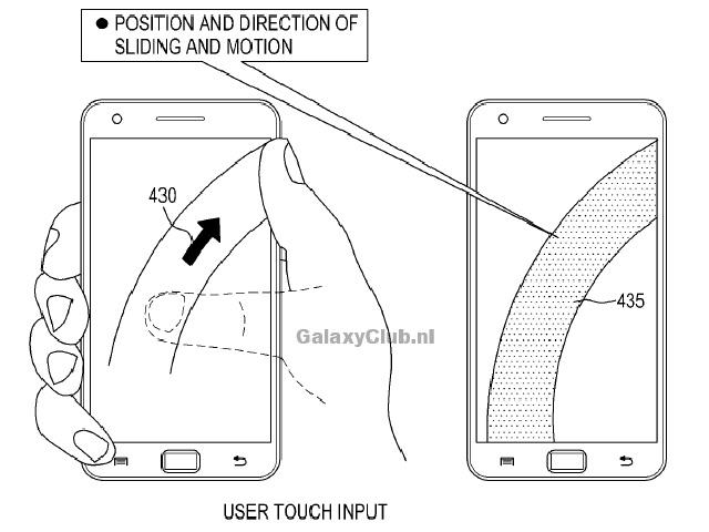 Brevet Samsung : un premier schéma
