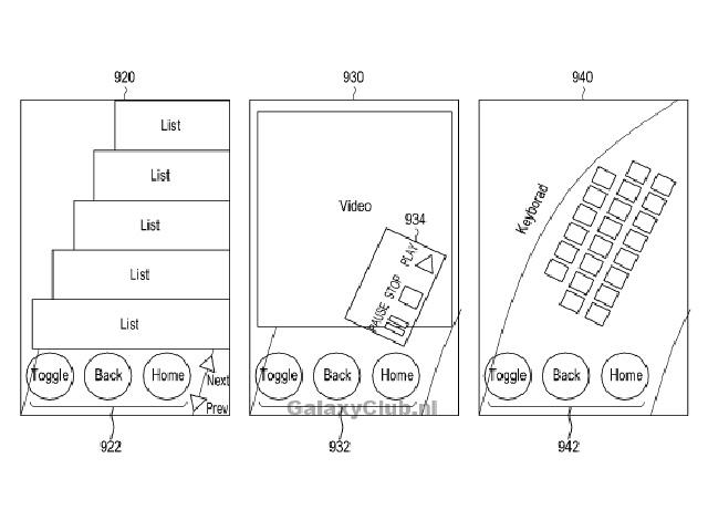 Brevet Samsung : un troisième schéma