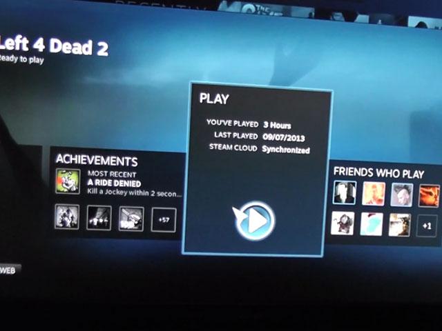 Démonstration Steam OS