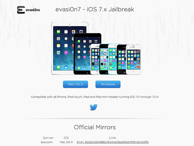 Jailbreak iOS 7 untethered dispo