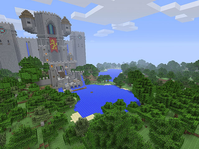Minecraft PS3 PS4 PS Vita
