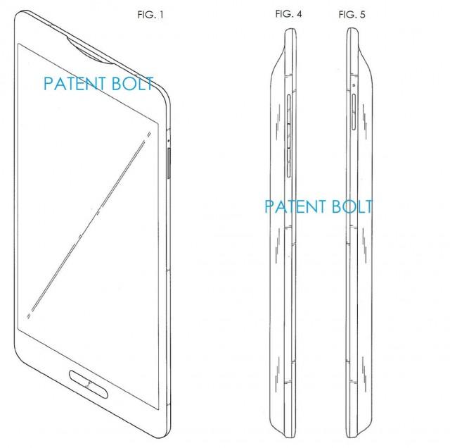 Samsung Galaxy S5 Brevet
