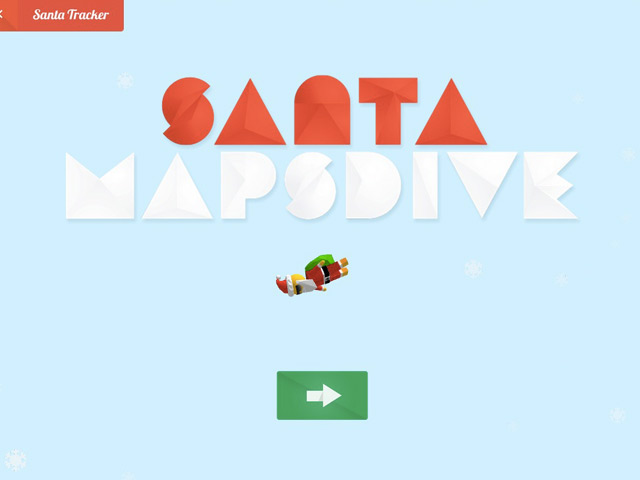 Santa Maps Drive