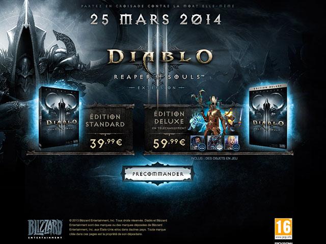 Sortie Diablo 3 Reaper of Souls