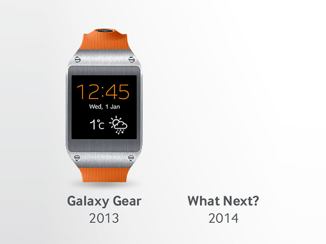 Teaser Samsung Galaxy Gear 2