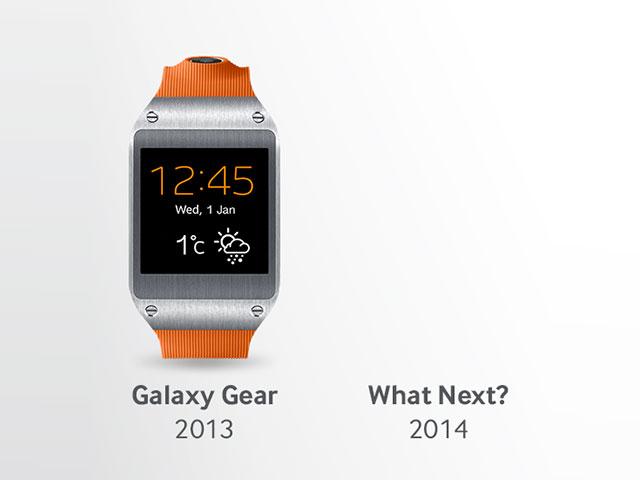 Objets connectés Samsung 2014