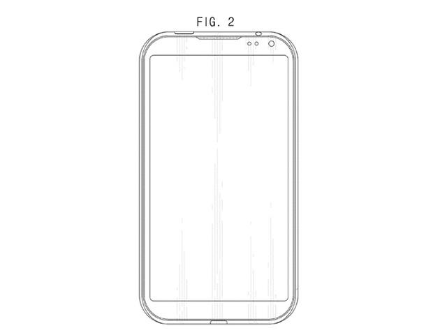 Brevet Samsung smartphone : image 1