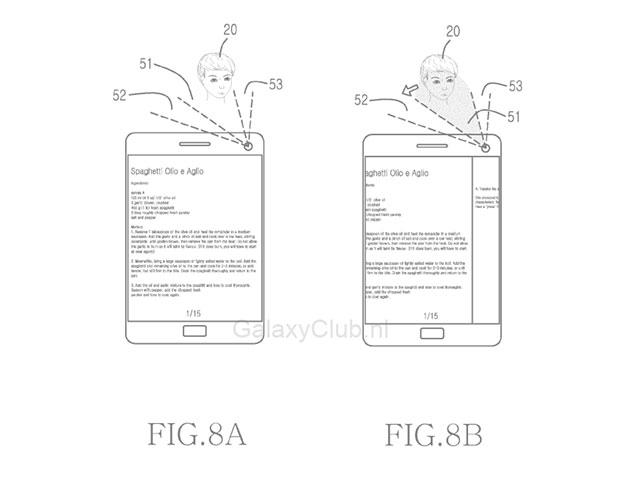Brevet Samsung Galaxy S5