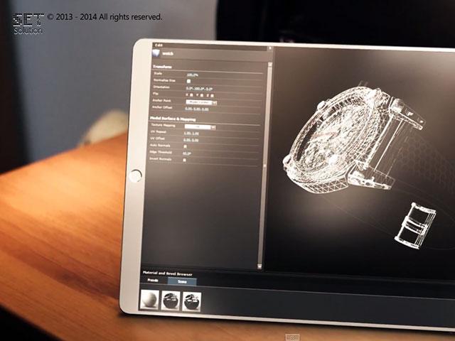 Concept SET Solution iPad Pro