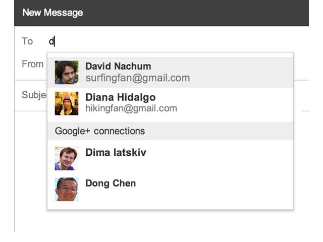 Gmail et Google+