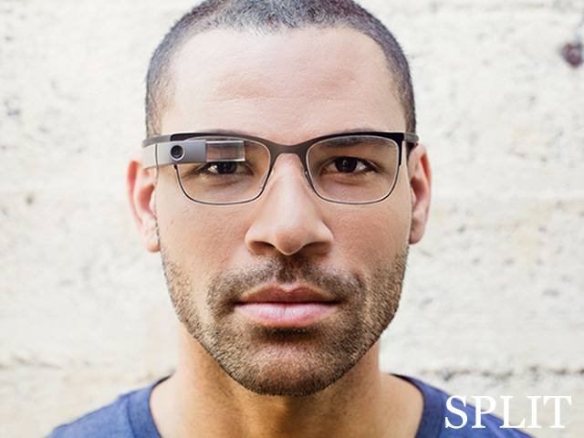 Google Glass Titanium : Split