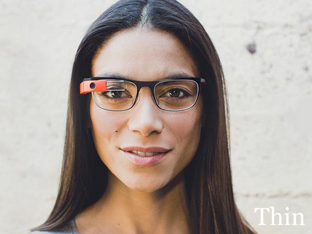 Google Glass Titanium : Thin