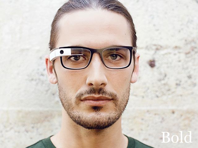 Google Glass Titanium : Bold
