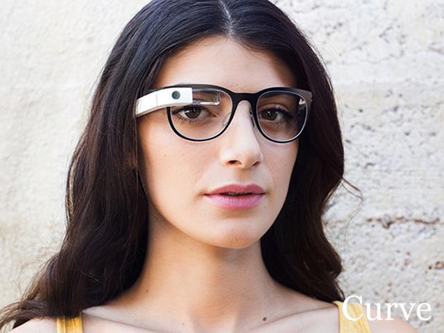 Google Glass Titanium : Curve
